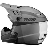 Dětská přilba Thor Sector Racer - Matná šedá/Černá