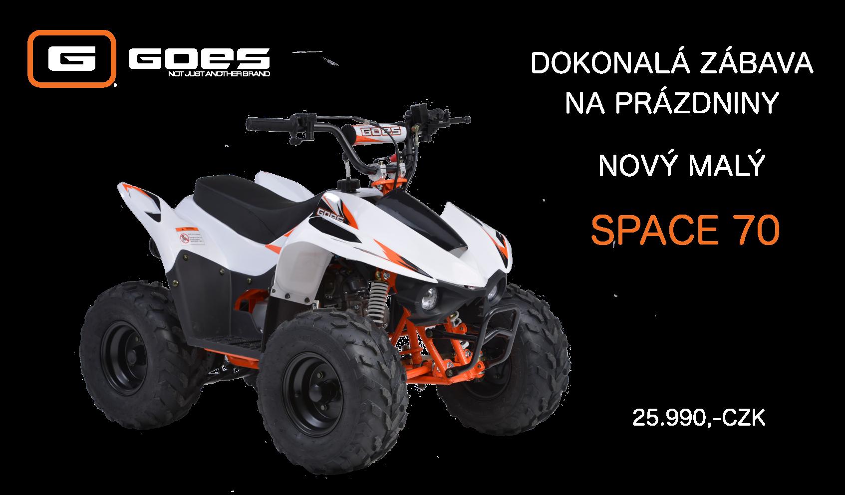 Nový malý Space 70