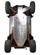 Kompletní kryt podvozku na Polaris RZR 900 XP, včetně zakrytí prahů a předních ramen