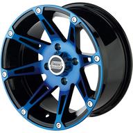 Alu disk na čtyřkolku Moose Utility 387BU Blue