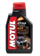 Motorový olej Motul ATV & SxS 4T, 10W50. 1Ltr.