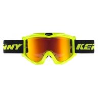Motokrosové brýle Kenny Track+ 17 - Neonově Žlutá