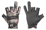 Tenké neoprenové rukavice se třemi otevřenými prsty - NEOSENSOR