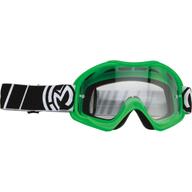 Dětské motokrosové brýle Moose Racing Qualifier Green