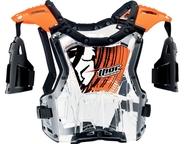 Dětský chránič těla Thor Quadrant Deflector Flo Orange. Pro váhu dítěte 18-27kg