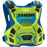 Dětský chránič hrudi Thor Guardian MX - Modrá/Zelená/Černá