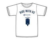 Tričko s krátkým rukávem Daelim Ride With Us - White