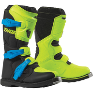 Dětské boty Thor Blitz XP - Černá/Zelená/Modrá
