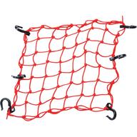 Síťka na připevnění nákladu k nosiči čtyřkolky (červená)