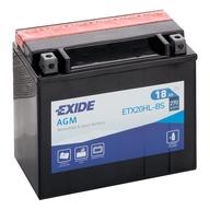 Baterie EXIDE - YTX20HL-BS (12V 18Ah), plus vpravo