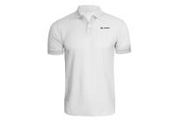 Tričko Goes s límečkem-bílé
