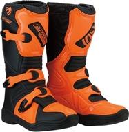 Kvalitní dětské boty na čtyřkolku a motokros. Moose racing USA. S18Y M1 Orange/Black