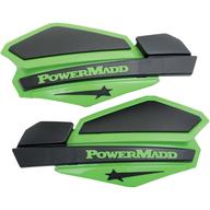 Chrániče rukou PowerMadd Star (Černá/Zelená)