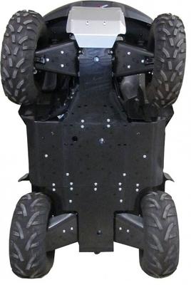 Kompletní plastový kryt podvozku pro Suzuki King Quad 700 a 750 bez EPS (-2018)