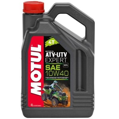 Motorový olej Motul ATV & UTV EXPERT 4T, 10W40. 4Ltr.