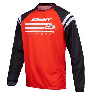 Dětský dres Kenny Track Raw 21 - Červená