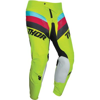 Dětské kalhoty Thor Pulse Racer - Žlutá Fluo/Červená/Modrá/Černá