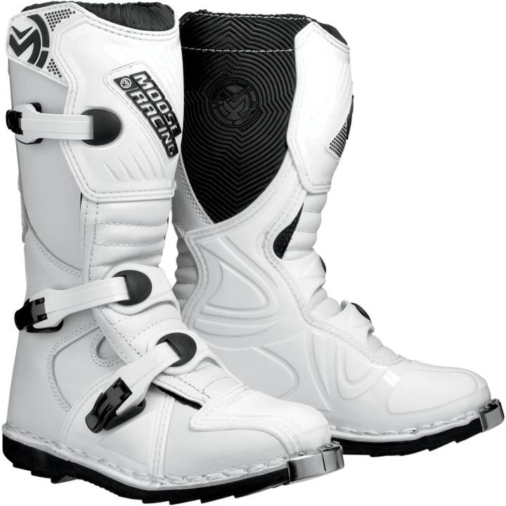 Kvalitní dětské boty na čtyřkolku a motokros. Moose racing USA. M1 Boot  White f5216d6962